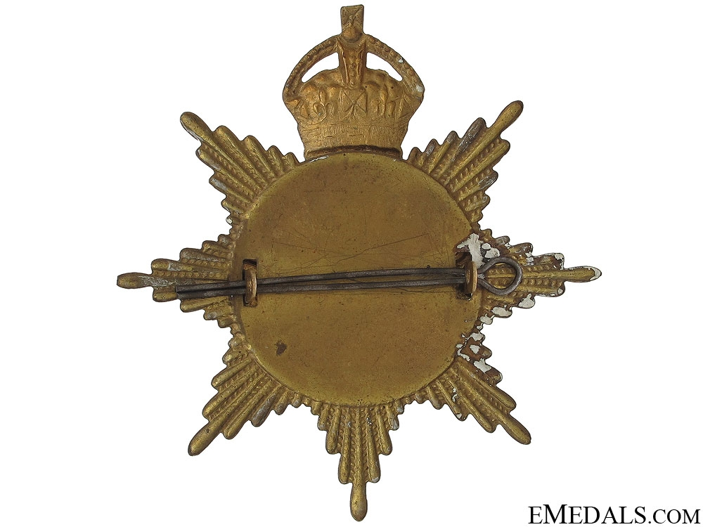 84th Canadian Militia Helmet Plate