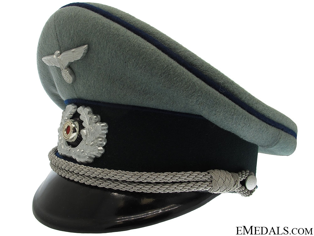 A Near Mint Army Medical Officer's Visor Cap