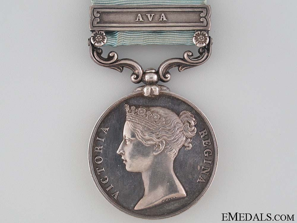 The Army of India Medal to Captain Townsend