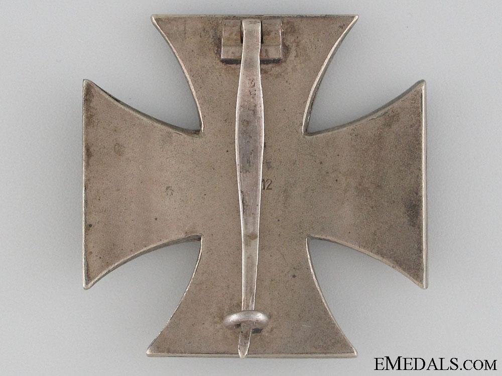 Iron Cross First Class 1939 by Juncker