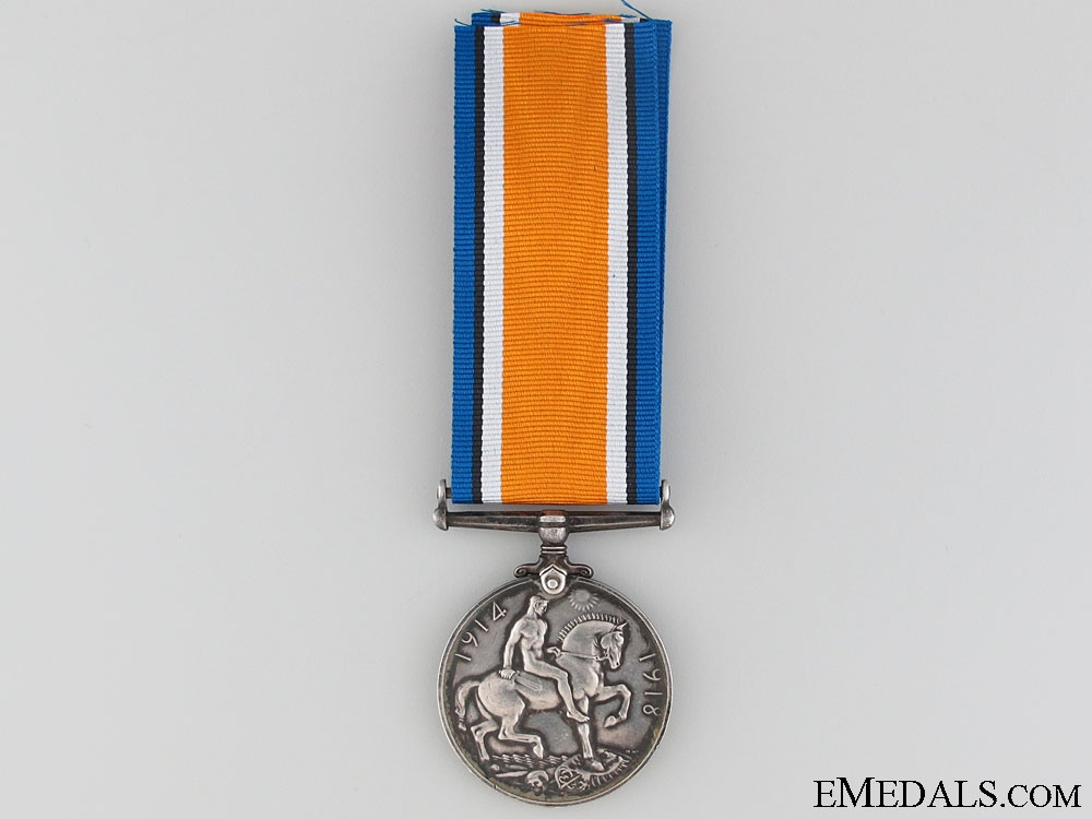WWI British War Medal to 2nd Lieut. Pownall