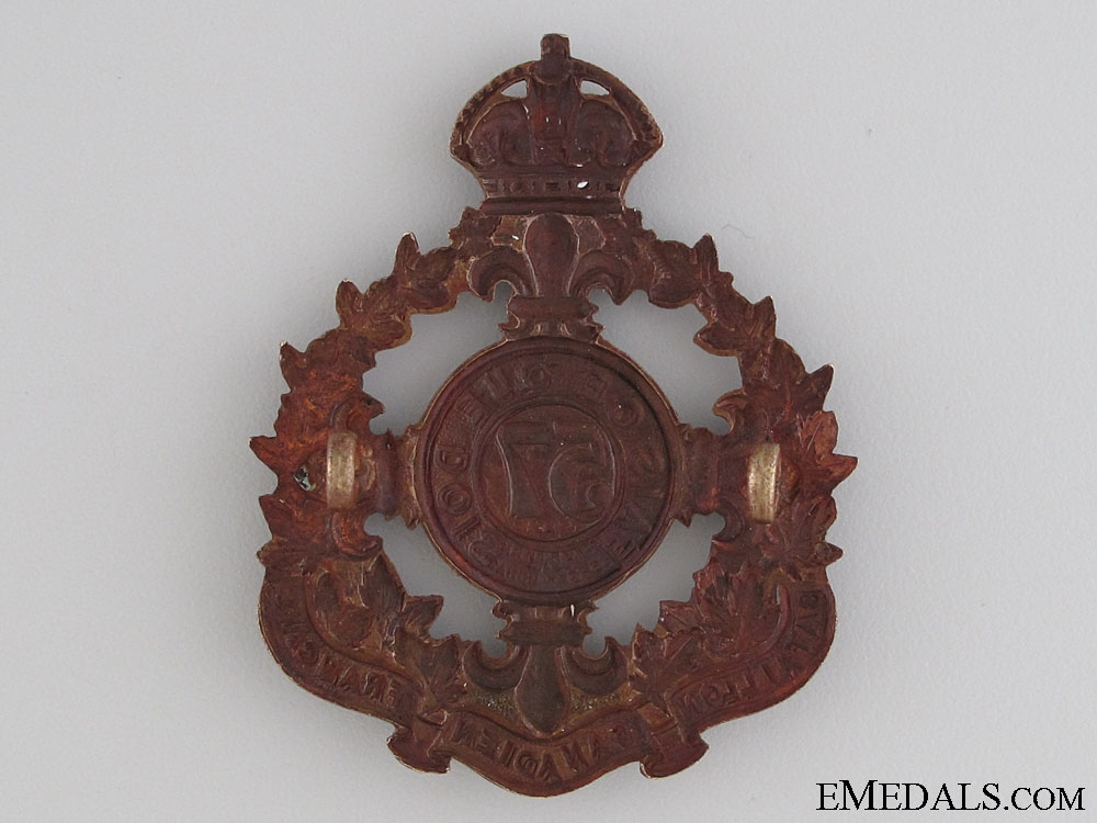 WWI 57th Infantry Battalion Cap Badge CEF