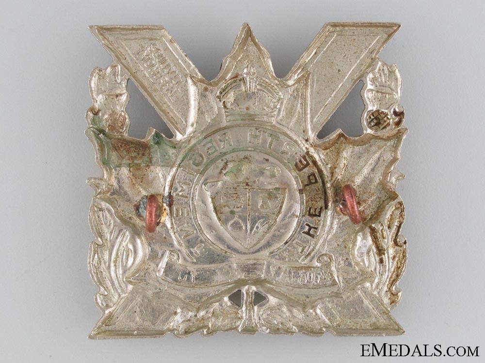 Perth Regiment Cap Badge c.1948