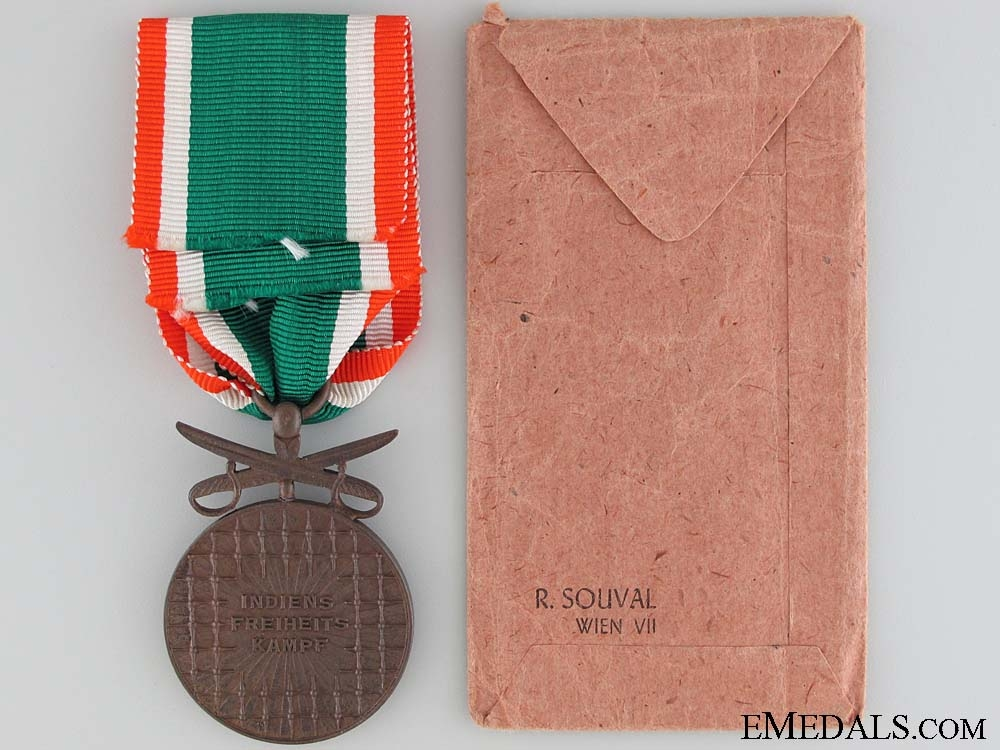 Azad Hind; 3rd Class with Swords 1942-1945 with Packetof Issue