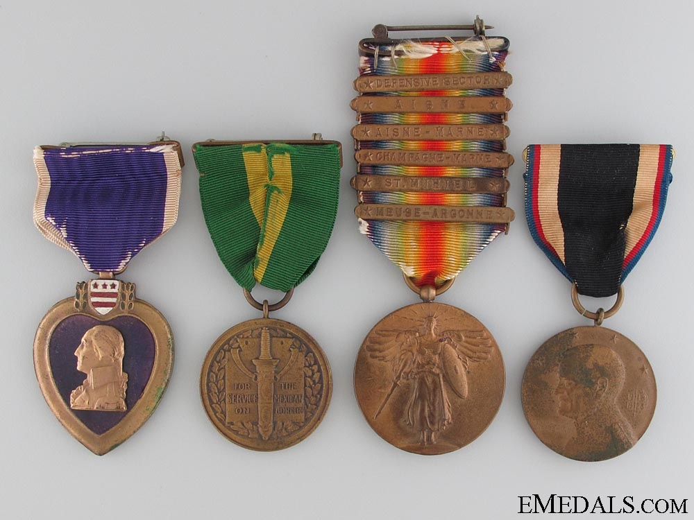 A First War American Army Purple Heart Group