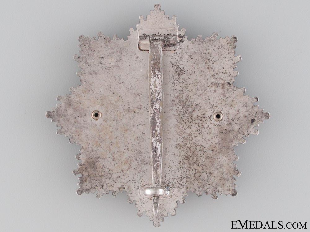 A Rare & Mint German Cross in Silver by Zimmermann