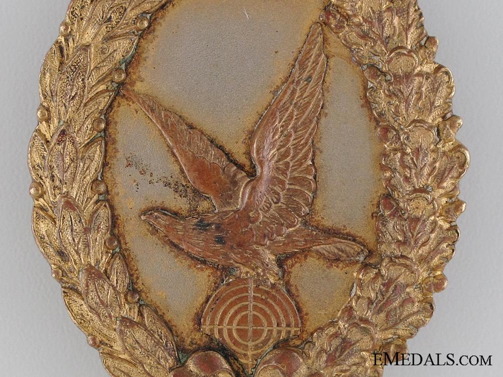 An Excessively Rare German Naval Air Gunner Badge, 1918