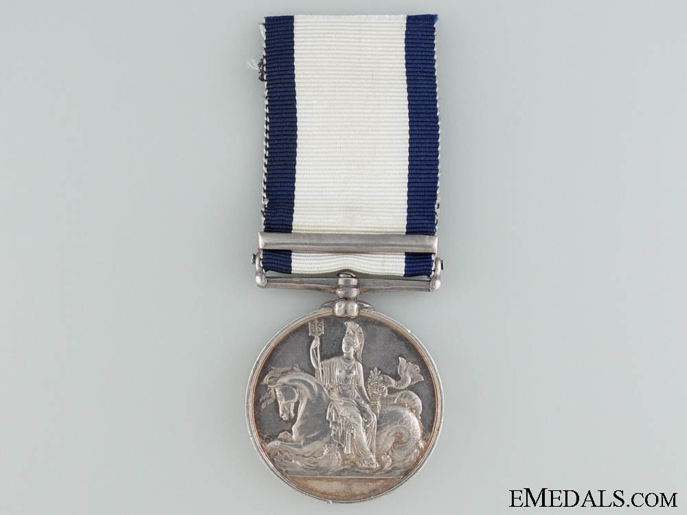 A Naval General Service Medal to the H.M.S Genoa
