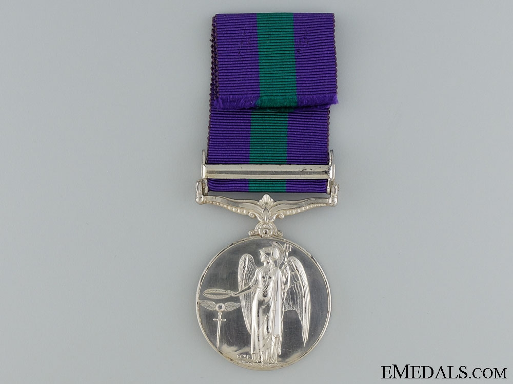 General Service Medal 1918-1962; S.E. Asia