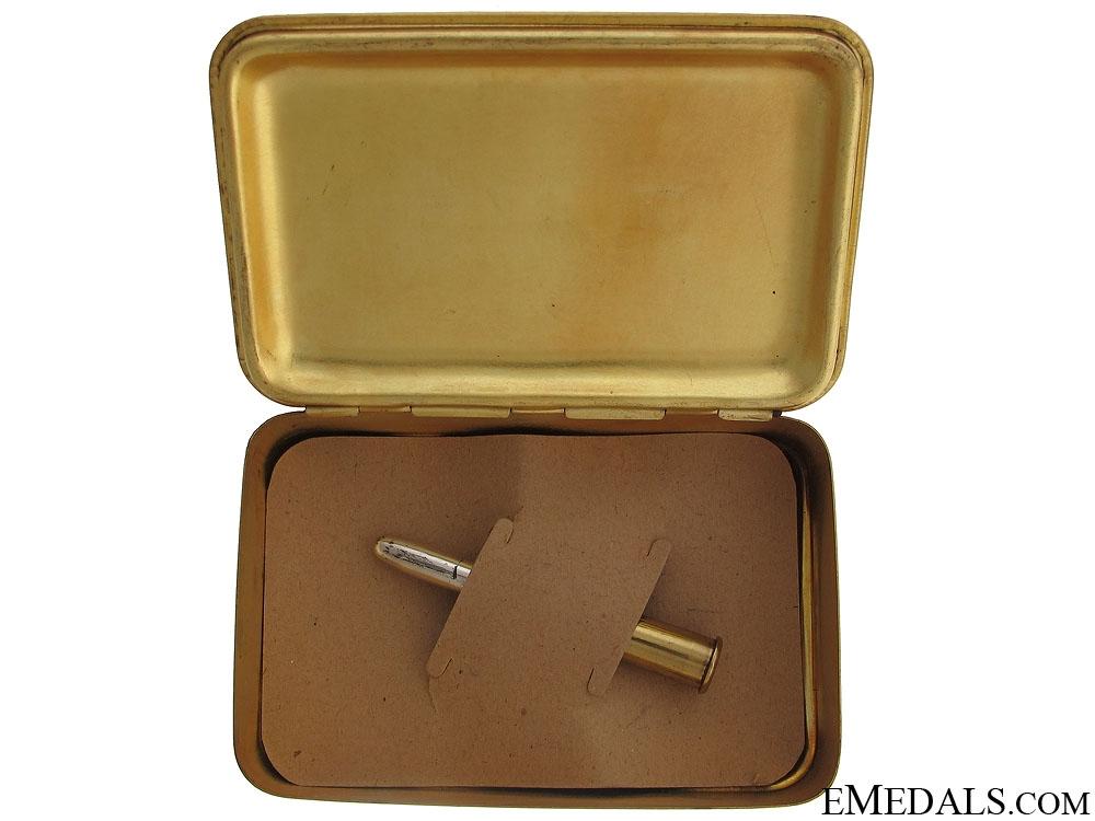 WWI Princess Mary Tin & Bullet Pencil