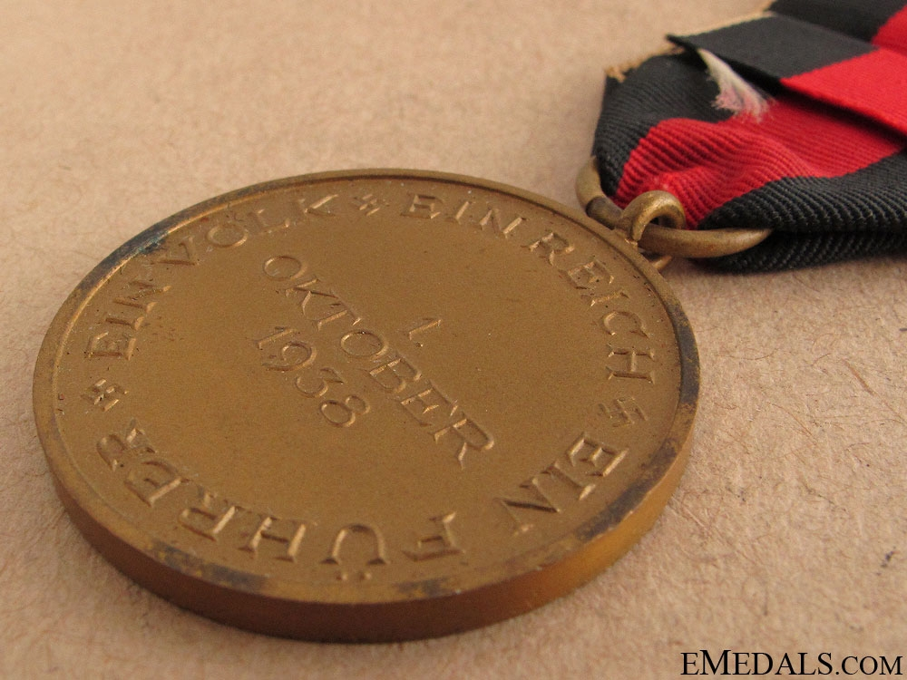 Commemorative Medal 1. October 1939