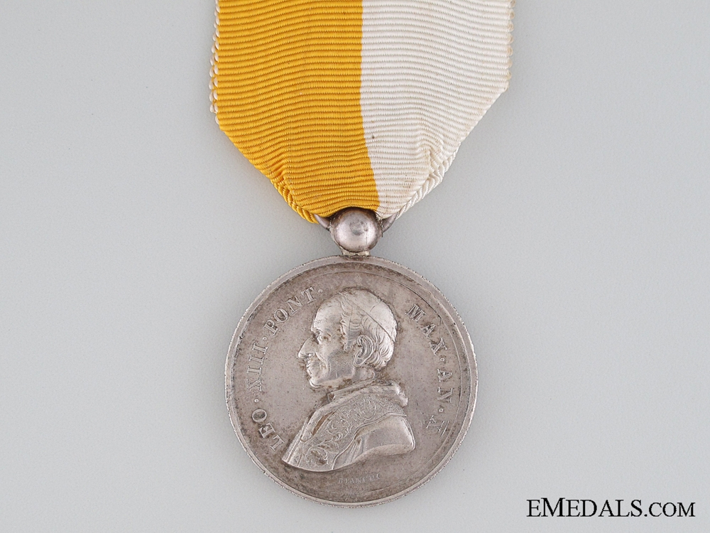 1887 LEO XIII SILVER MEDAL