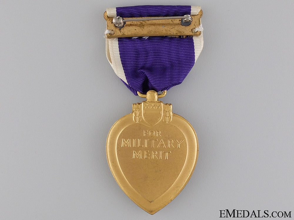 A Second War American Purple Heart; Numbered
