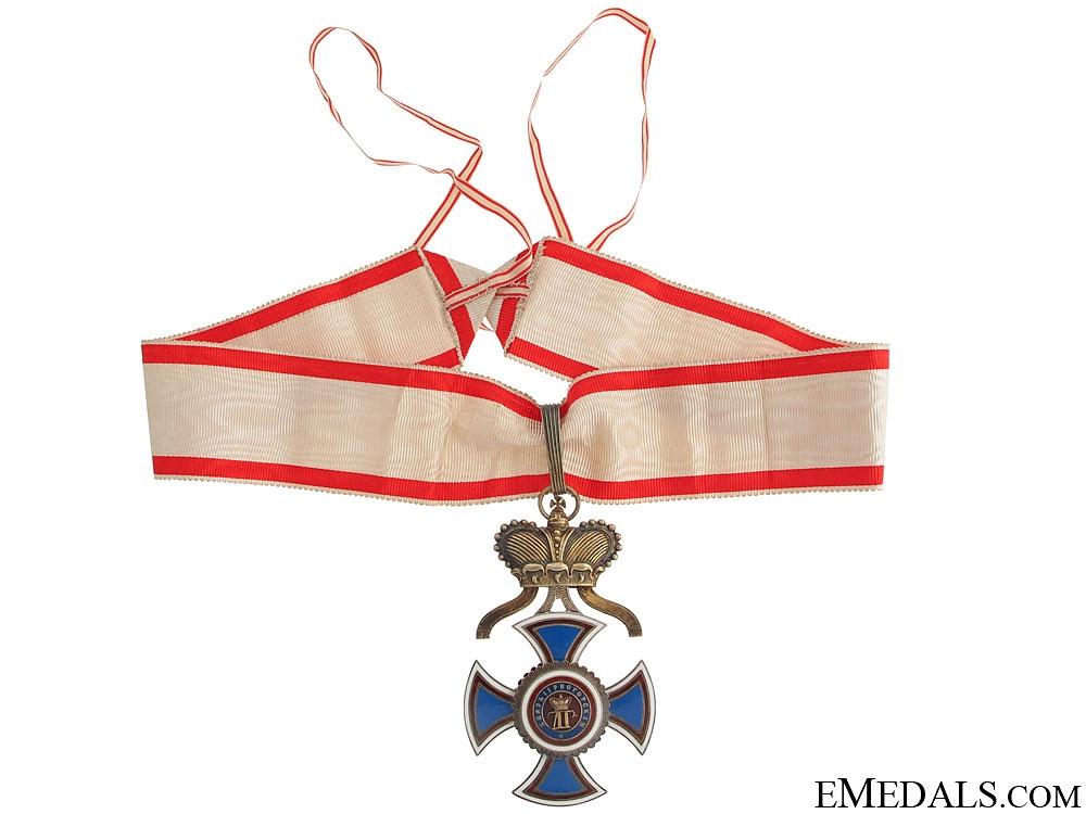 Order of Danilo - Commander's Cross