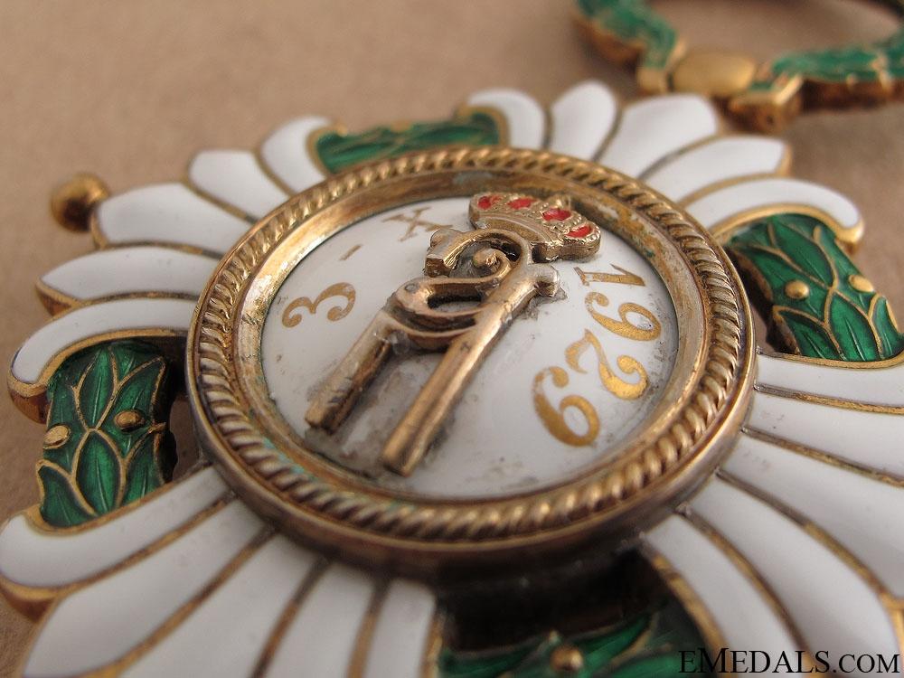 Order of the Yugoslav Crown - Grand Cross Set