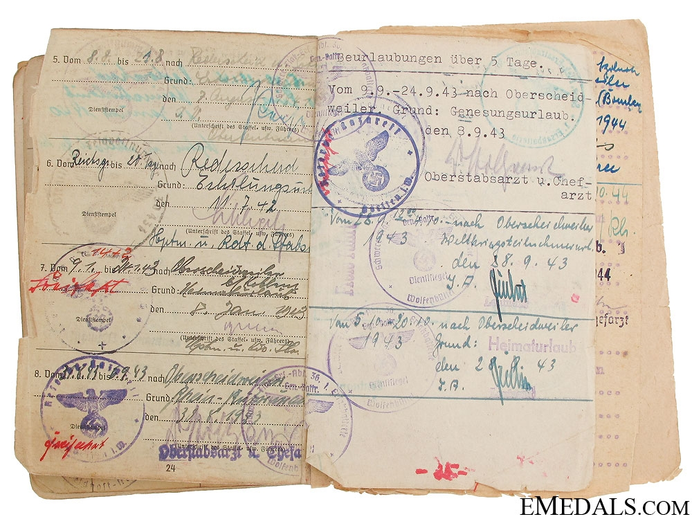 A Luftwaffe Document Grouping