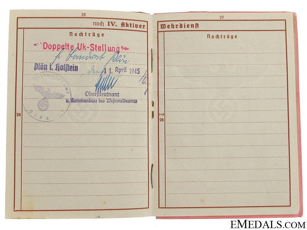 Three WWII German Identification Items