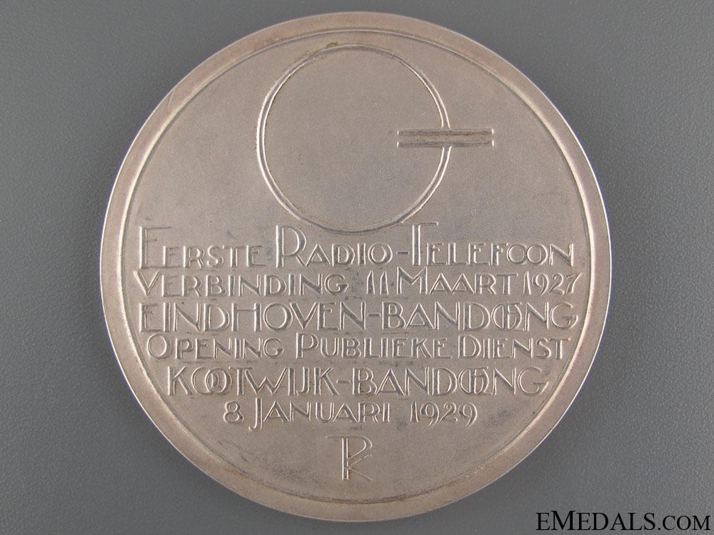 Holland Indies Telecom Commemorative Medal 1929