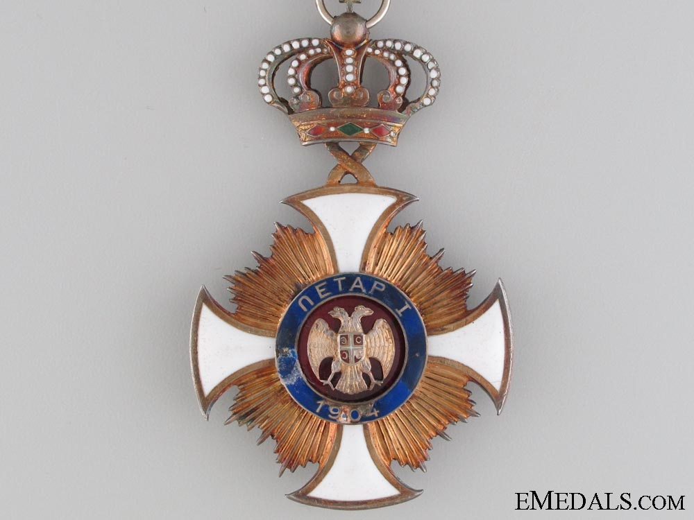 The Serbian Order of Karageorge; 3rd Class