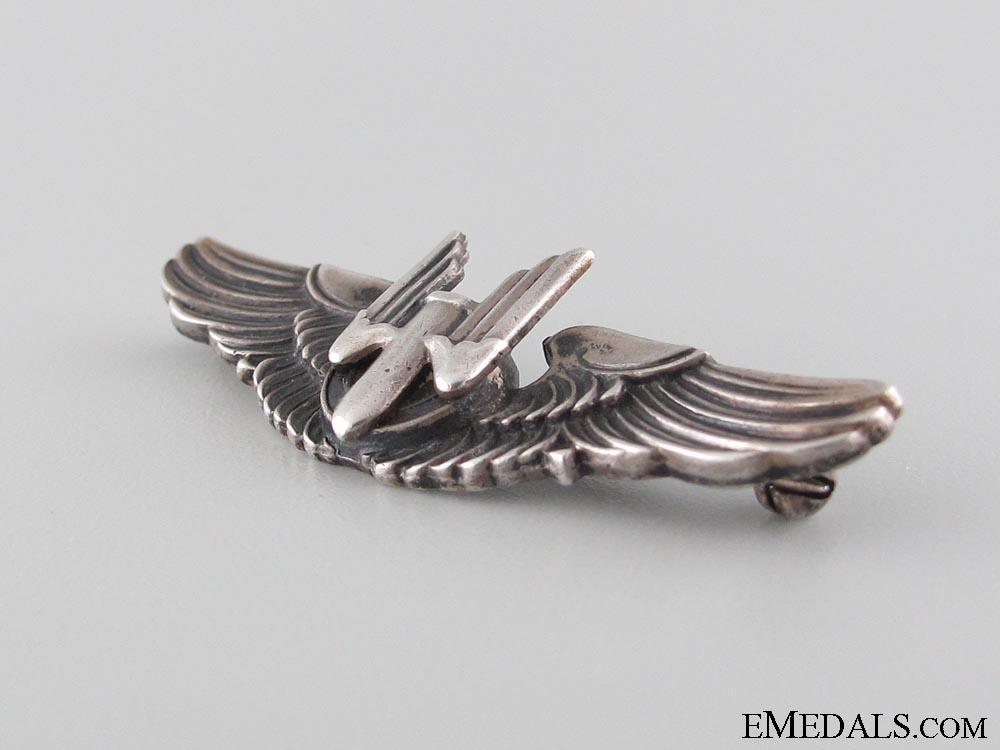 WWII Aerial Gunner Wings Badge