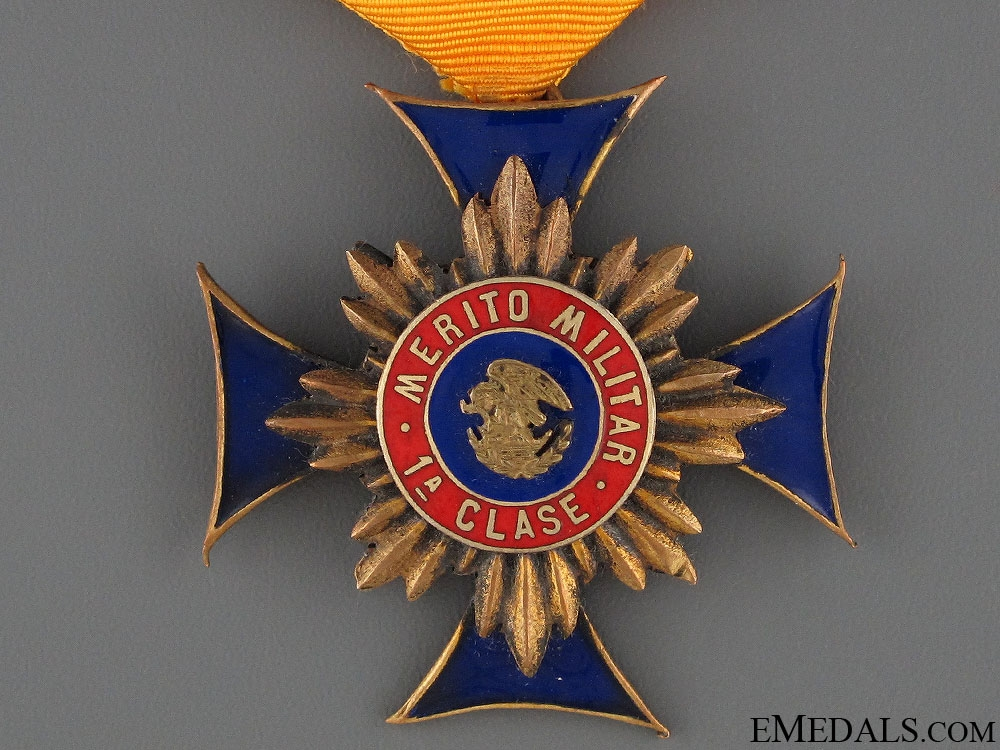 A Mexican Military Merit Medal - 1st Class