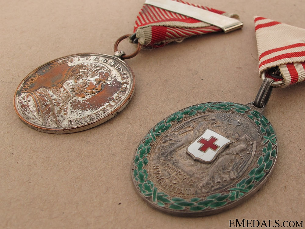 Two Imperial Austrian Awards