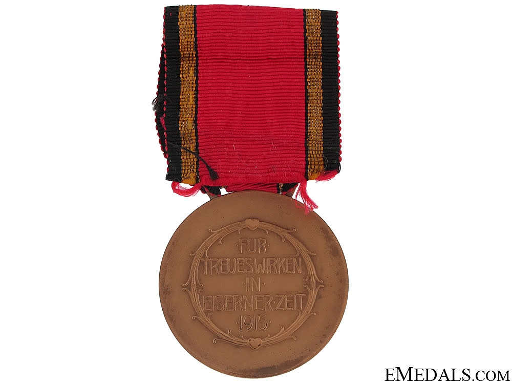 Frierich-Bathildis Medal 1915