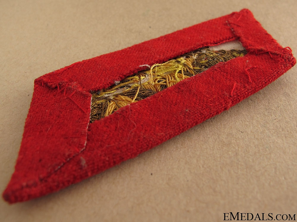 Generalmajor Shoulder Boards & Collar Tab
