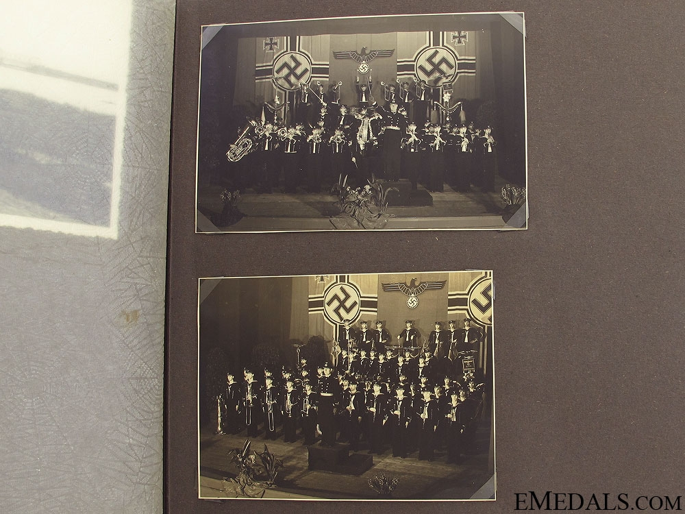 A Set of Superb Kreigsmarine Photo Albums