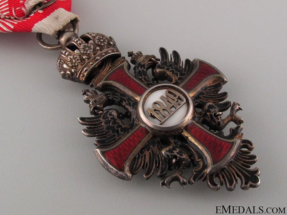 Order of Franz Joseph - Knight's Cross