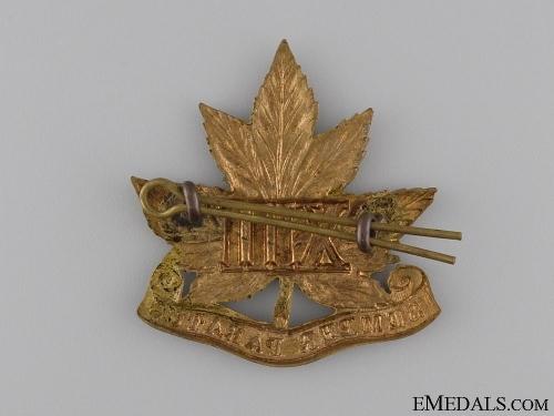 A Pre First War 13th Regiment Cap Badge c.1909