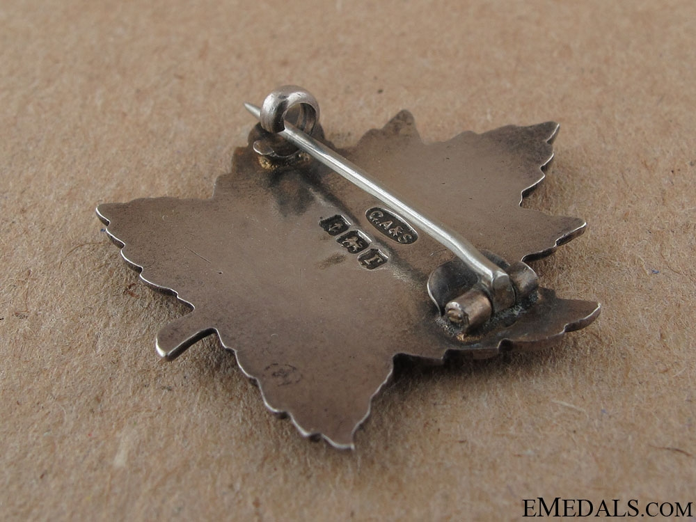 WWI 27th Infantry Battalion Sweetheart Pin