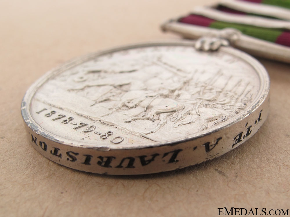 Afghanistan Medal - 9th Lancers