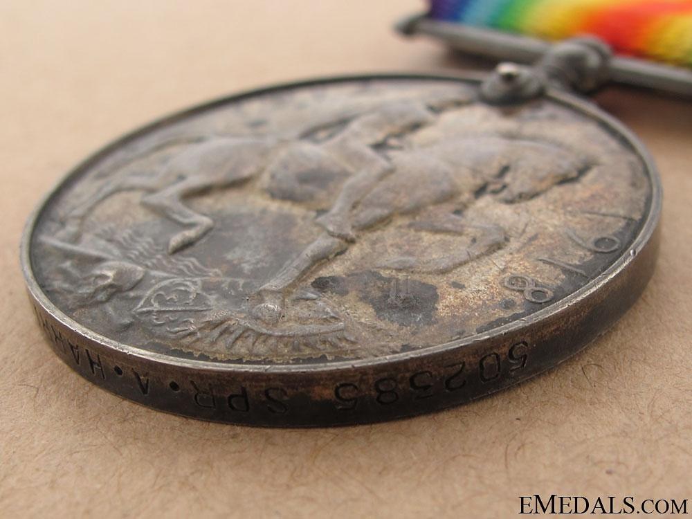 WWI British War Medal - Canadian Engineers