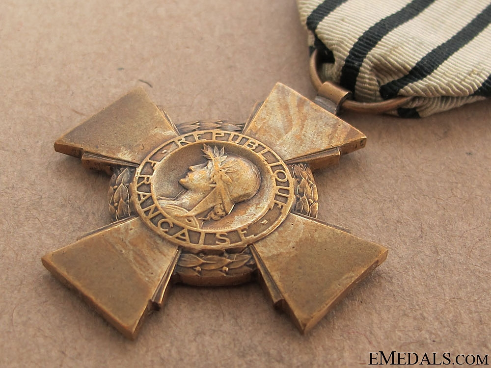 A Rare Vichy France Combatants Cross 1939-40