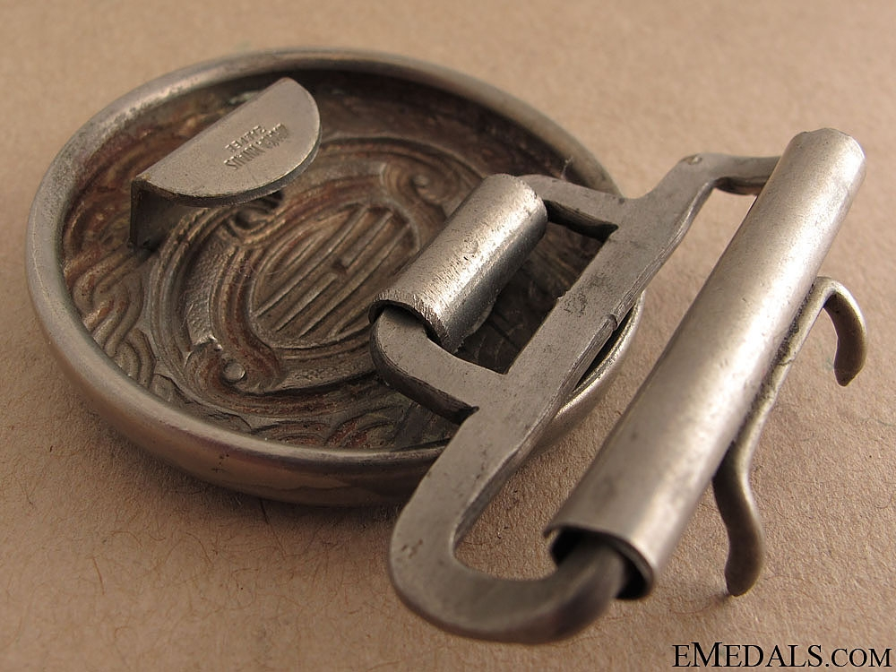 Croatian Officer's Air force Belt & Buckle