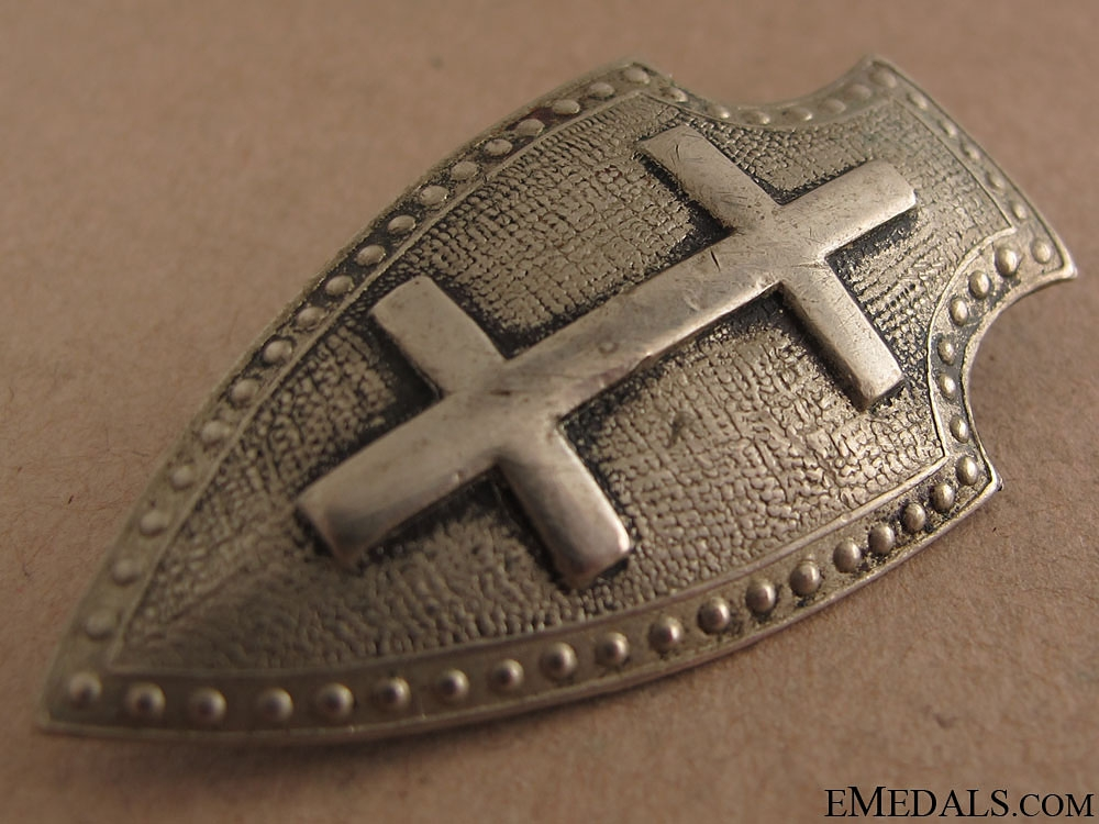 An Interwar Latvian Regimental Badge