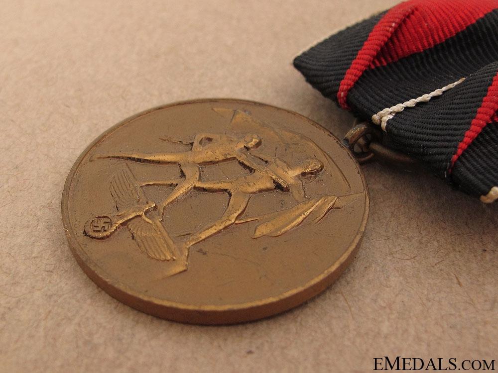 Commemorative Medal 1.Oktober 1938