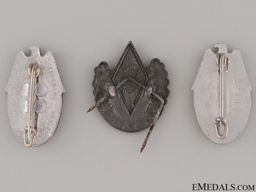 Three HJ Pins