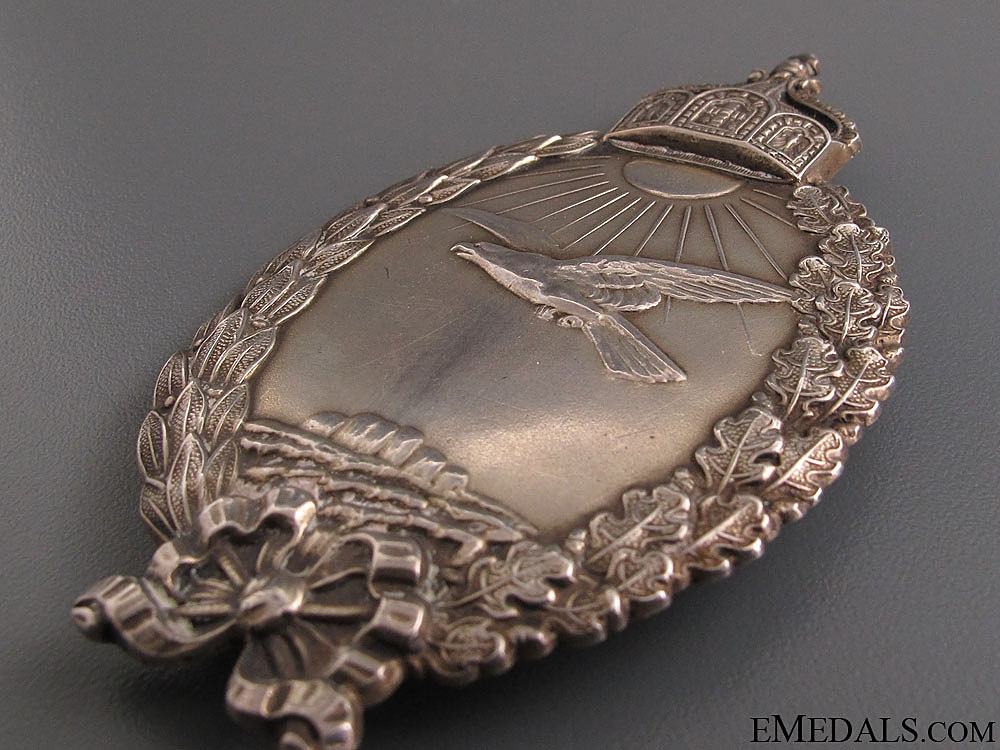 Prussian Badge for Naval Pilots on Seaplanes
