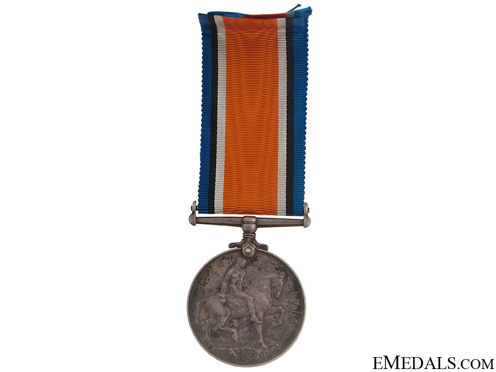 British War Medal - Canadian Field Artillery