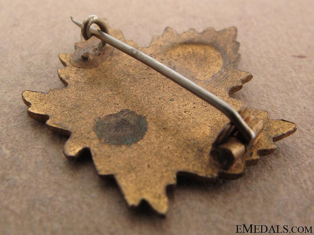 121st Western Irish Sweetheart Pin