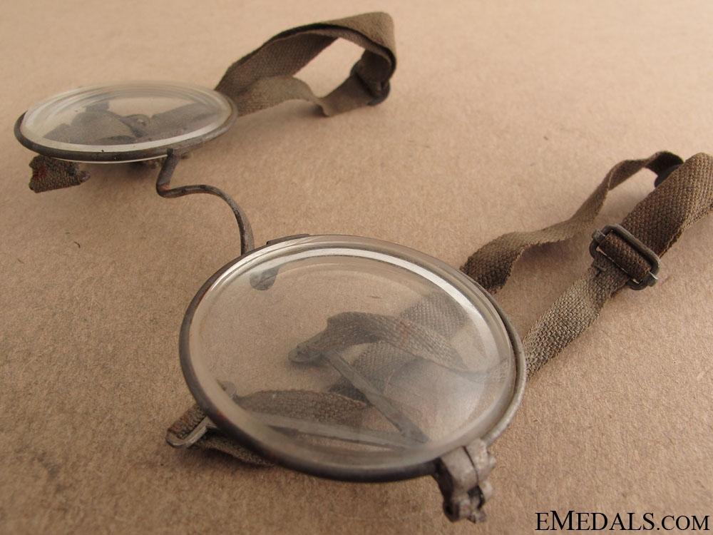 """WWI German """"Maskenbrille"""" Eyeglasses for Gas Masks"""