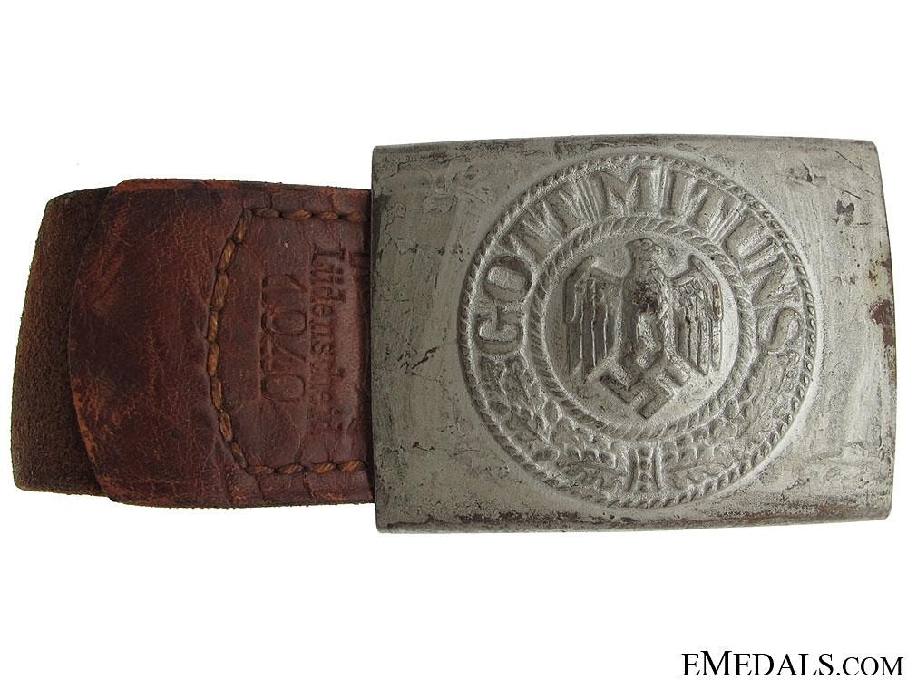 Army EM/NCOS Belt & Buckle