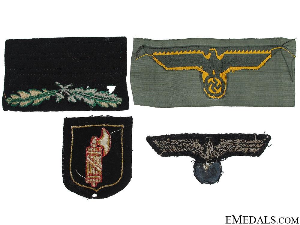 Four Third Reich Cloth Items