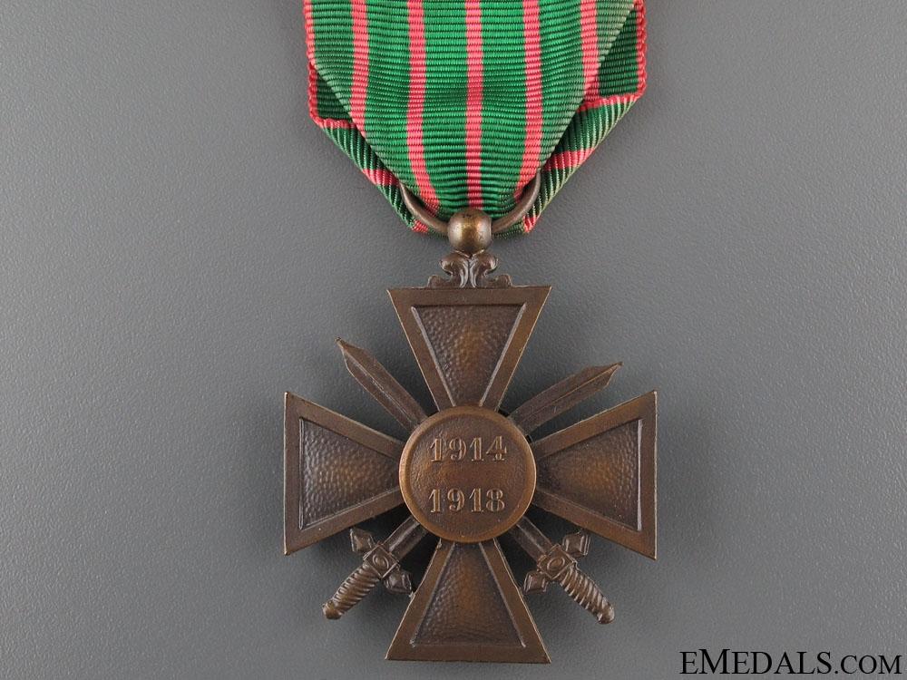 A French Croix de Guerre
