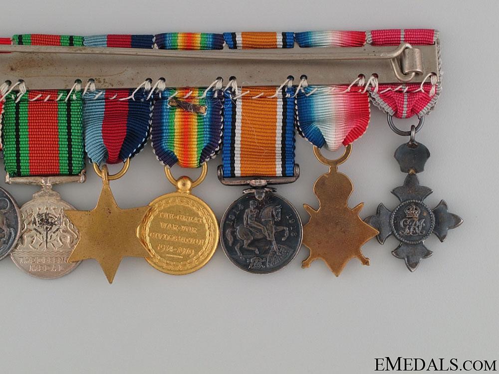 A Dunkirk Medal Miniature Group