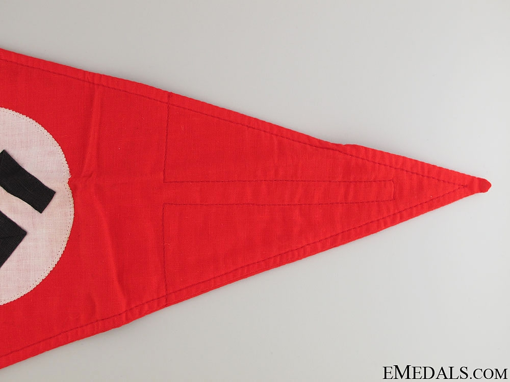 A Mint Political Car Pennant