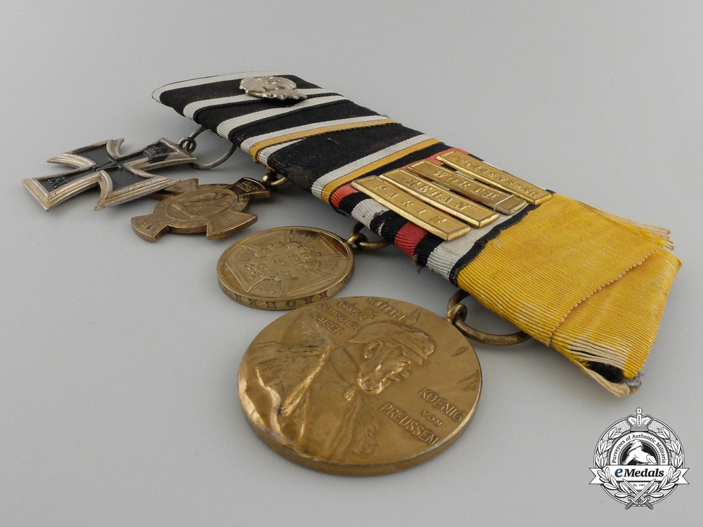 A Fine Franco-Prussian War 1870 Iron Cross Medal Bar