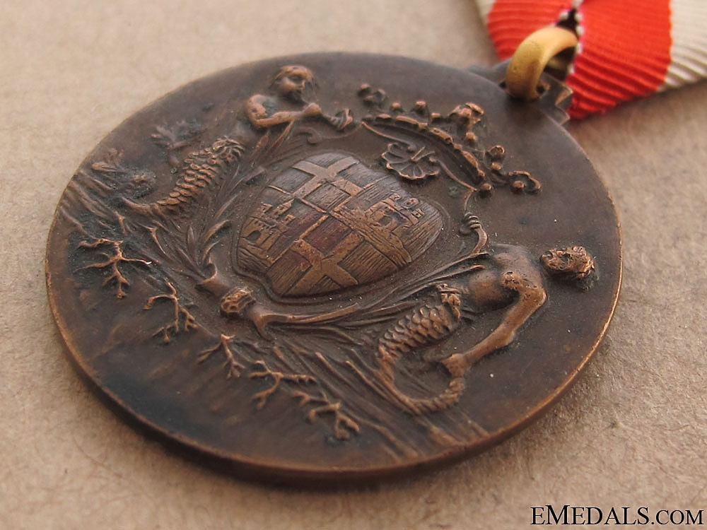 WWII 59th Mountain Infantry Division Cagliari Medal